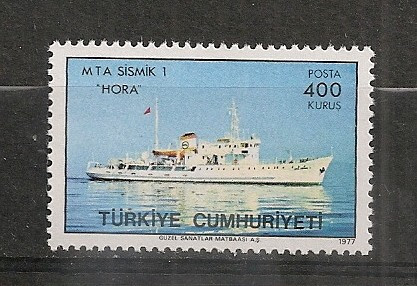 Turcia.1977 Vas de cercetari geofizice  ST.311 foto mare