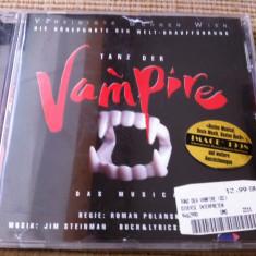 Vereinigte Buhnen Wien tanz der vampire disc cd musical muzica symphonic rock - Muzica soundtrack