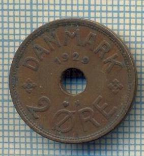 6344 MONEDA - DANEMARCA (DANMARK) - 2 ORE - ANUL 1929 -starea care se vede foto