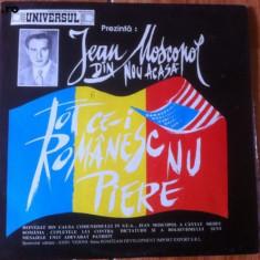 Jean moscopol tot ce i romanesc nu piere din nou acasa disc vinyl lp muzica - Muzica Lautareasca, VINIL