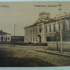 RAMNICU VALCEA - PREFECTURA JUDETULUI - SEPIA - INCEPUT DE 1900 - Carte Postala Oltenia 1904-1918, Necirculata, Fotografie