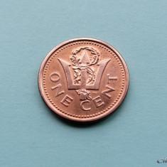 BARBADOS - 1 Cent 2006, America Centrala si de Sud