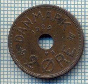 6337 MONEDA - DANEMARCA (DANMARK) - 2 ORE - ANUL 1929 -starea care se vede foto mare