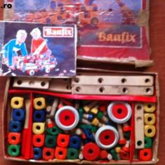 Baufix joc set de construit educativ constructie din lemn pentru copii hobby