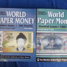 LOT 2 CATALOAGE BANCNOTE * WORLD PAPER MONEY : 1368-1960 + 1961-PRESENT -2008/10