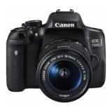 Aparat Foto DSLR Canon EOS 750D Kit 18-55mm f3.5-5.6 IS STM Black