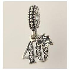 Talisman Pandora autentic din argint -model 791288cz-happy 40 - 636 - Pandantiv argint