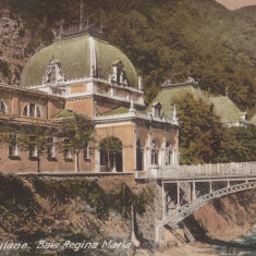 HERCULANE, BAILE HERCULANE, BAIA REGINA MARIA - Carte Postala Banat dupa 1918, Necirculata, Printata
