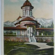 MANASTIREA SINAIA - INCEPUT DE 1900