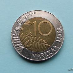 FINLANDA - 10 Markkaa 1993, Europa
