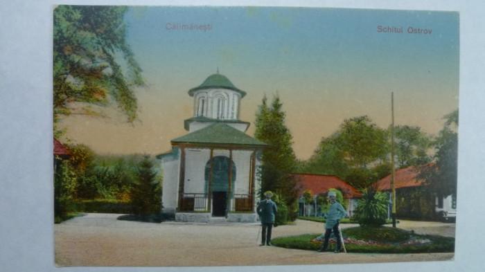 SCHITUL OSTROV - CALIMANESTI - INCEPUT DE 1900 foto mare
