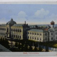 IASI - UNIVERSITATEA - INCEPUT DE 1900 - Carte Postala Moldova 1904-1918, Stare: Necirculata, Tip: Fotografie