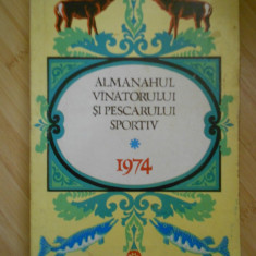 ALMANAHUL VANATORULUI SI PESCARULUI SPORTIV-1974 - Carte sport