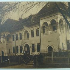 RAMNICU VALCEA - SERVICIUL TECHNIC - SEPIA - INCEPUT DE 1900 - Carte Postala Oltenia 1904-1918, Necirculata, Fotografie