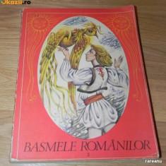 BASMELE ROMANILOR. VOL 2. CARTE PENTRU COPII. ILUSTRATII DE DONE STAN - Carte Basme