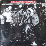 Village People - Village People (1977, Barclay) Disc vinil album original, Disco