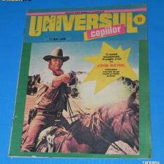 UNIVERSUL COPIILOR -1990 - NR 18 (17 MAI) - Reviste benzi desenate