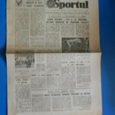 ZIARUL SPORTUL 21 IUNIE 1988 - COMPETITII DE MASA PE ARENELE TELORMANENE. teleorman (01035