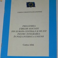 PREGATIREA TARILOR ASOCIATE DIN EUROPADE EST PENTRU INTEGRAREA IN PIATA UNIUNII - Carte Politica