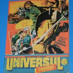 UNIVERSUL COPIILOR -1991 - 17-18 - APROAPE 8 PAGINI DE BENZI DESENATE - Reviste benzi desenate