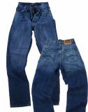 Cumpara ieftin Blugi barbati - prespalati - talie inalta - LOTUS jeans W 31 (Art.125-127), Albastru