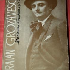 MIRA DEMETER GROZAVESCU. I. VOLEDI - TRAIAN GROZAVESCU - Carte Arta muzicala