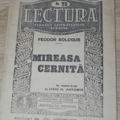 FLOAREA LITERATURILOR STRAINE NR 76 - FEODOR SOLOGUB - MIREASA CERNITA - Roman