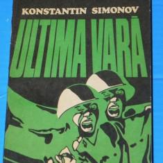 KONSTANTIN SIMONOV - ULTIMA VARA VOL 2 (02495 olg - Carte de aventura