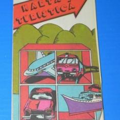 ROMANIA HARTA TURISTICA SI AUTOMOBILISTICA 1983. publiturism