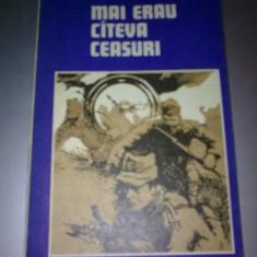 NICOLAE JIANU - MAI ERAU CATEVA CEASURI - Carte de aventura