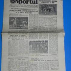 ZIARUL SPORTUL 25 IANUARIE 1982 (01068
