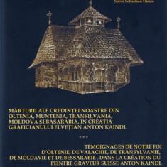 Monumente DIN OLTENIA MUNTENIA TRANSILVANIA SI BASARABIA - GRAVURI ANTON KAINDL - Carte Arta populara
