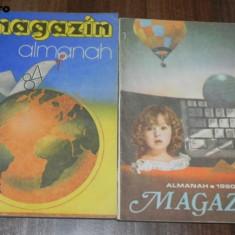 Lot 2 almanahuri ALMANAH MAGAZIN 1984 si 1990