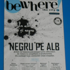 REVISTA BE WHERE 2012 NR 6 (01011 - Revista culturale