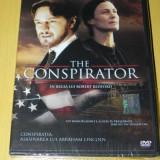 DVD FILM THE CONSPIRATOR / CONSPIRATIA. ASASINAREA LUI ABRAHAM LINCOLN. REGIA ROBERT REDFORD. NOU. SIGILAT. SUBTITRARE IN LIMBA ROMANA - Film drama