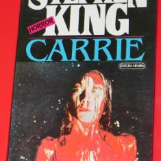 STEPHEN KING - CARRIE - Carte Horror