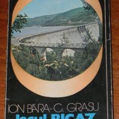 ION BARA, C GRASU - LACUL BICAZ SI IMPREJURIMI (76467 - Carte Geografie