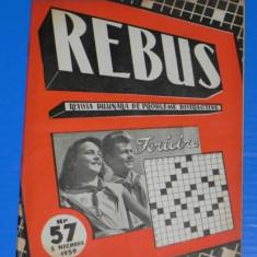 REVISTA REBUS 1959 NR 57 - NECOMPLETATA (00461