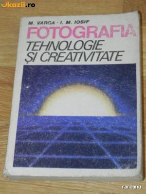 M VARGA, I M IOSIF - FOTOGRAFIA. TEHNOLOGIE SI CREATIVITATE (0988 foto