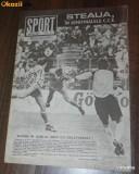 DE COLECTIE. REVISTA SPORT SPORTUL ILUSTRAT - nr 3/1989 - STEAUA BUCURESTI