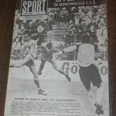 DE COLECTIE. REVISTA SPORT SPORTUL ILUSTRAT - nr 3/1989 - STEAUA BUCURESTI - Carte sport