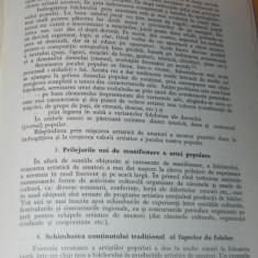 FLORIN GEORGESCU - FOLCLORUL SI MISCAREA ARTISTICA DE AMATORI - extras - Carte folclor