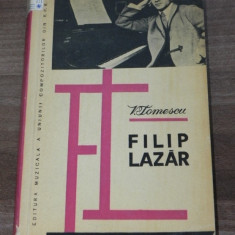 VASILE TOMESCU - FILIP LAZAR - Carte Arta muzicala