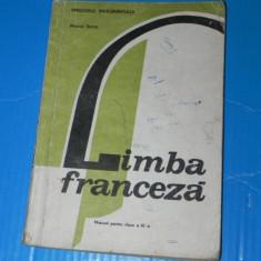 MARCEL SARAS - MANUAL LIMBA FRANCEZA CLASA A XI-A- 1993
