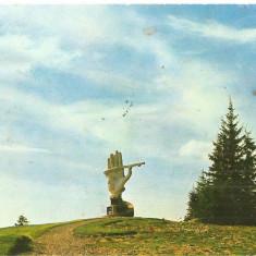 CPI (B5332) CARTE POSTALA - MONUMENTUL DE LA CIUMARNA, 1986 - Carte Postala Crisana dupa 1918, Circulata, Fotografie