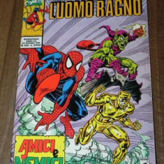 L UOMO RAGNO SPIDER-MAN marvel comics benzi desenate limba italiana nr 122 1993 - Reviste benzi desenate