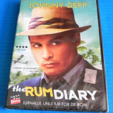DVD FILM comedie JURNALUL UNUI IUBITOR DE ROM / RUM DIARY. NOU. SIGILAT. SUBTITRARE IN LIMBA ROMANA. JOHNNY DEPP