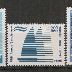 Turcia.1977 C.E. de yachting ST.318 - Timbre straine
