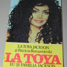 LA TOYA JACKSON PATRICIA ROMANOWSKI EU SI FAMILIA JACKSON michael jackson (U343 - Carte Arta muzicala