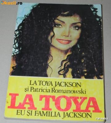 LA TOYA JACKSON PATRICIA ROMANOWSKI EU SI FAMILIA JACKSON michael jackson (U343 foto